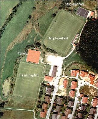 Luftbild Sportzentrum Ascha
